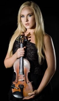 Ginny Luke Violinist and Vocalist